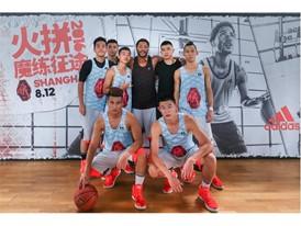 adidas Derrick Rose Take On Summer Tour China 7