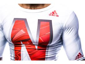 Nebraska x adidas Husker Chrome Baselayer