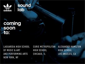 adidas Originals Announces the Expansion of Sound Labs in Three Major Cities