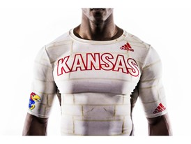 Kansas x adidas Limestone Baselayer