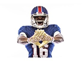 Kansas x adidas Limestone Gloves