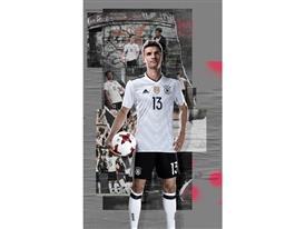 adidas SS17 DFB 1x2 Mueller