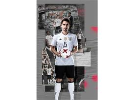 adidas SS17 DFB 1x2 Hummels