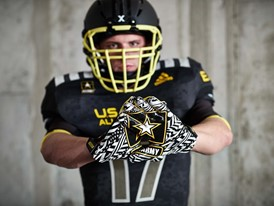 2017 Army All-American Bowl East Gloves