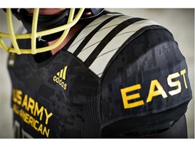 2017 Army All-American Bowl East Shoulder Pad