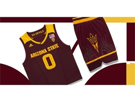 adidas NCAA Create Yours ASU Mens 4