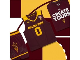 adidas NCAA Create Yours ASU Mens 5