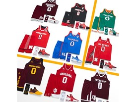 adidas NCAA Create Yours All Schools Womens Square