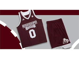 adidas NCAA Create Yours Mississippi State Womens 3