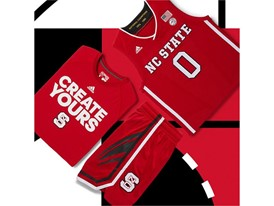 adidas NCAA Create Yours NCST Mens 5