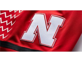 adidas NCAA Create Yours Nebraska Womens 3