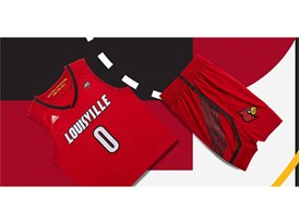adidas NCAA Create Yours Louisville Mens 3