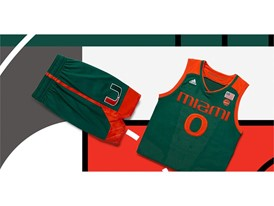 adidas NCAA Create Yours Miami Mens 4