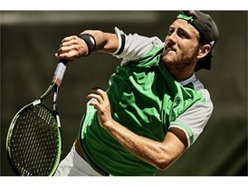 PR French Open SS17 French Open Lucas Pouille Action 01