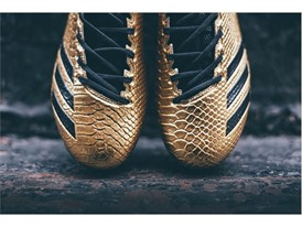 "adidas Football adizero 5-Star 6.0 ""Gold Pack"" Black 2"