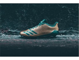 "adidas Football adizero 5-Star 6.0 ""Gold Pack"" Green 1"