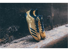 "adidas Football adizero 5-Star 6.0 ""Gold Pack"" Navy 1"