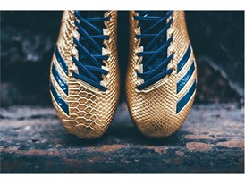 "adidas Football adizero 5-Star 6.0 ""Gold Pack"" Navy 2"