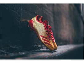 "adidas Football adizero 5-Star 6.0 ""Gold Pack"" Red 1"