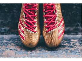 "adidas Football adizero 5-Star 6.0 ""Gold Pack"" Red 3"
