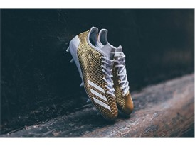 "adidas Football adizero 5-Star 6.0 ""Gold Pack"" White 1"