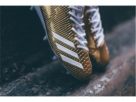 "adidas Football adizero 5-Star 6.0 ""Gold Pack"" White 3"