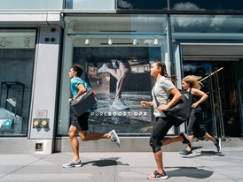 adidas Surprises New Yorkers on Global Running Day