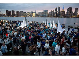 ADIDAS AND PARLEY TURN NEW YORK CITY BLUE WITH THEIR INAUGURAL 5K RUN TO RAISE AWARENESS FOR THE OCEANS