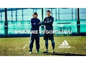 SHUNSUKE VS GOROMARU 16SS FOOTBALL/RUGBY