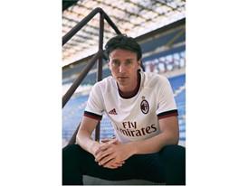 adidas Soccer Reveals New AC Milan Away Jersey for 2017/18 Season