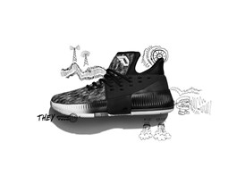 adidas Dame3 Static  BY3760 S