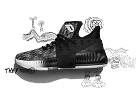 adidas Dame3 Static  BY3760 H