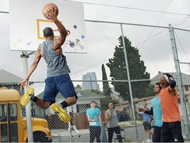 Sport17 CreatePositivity Basketball Dunk