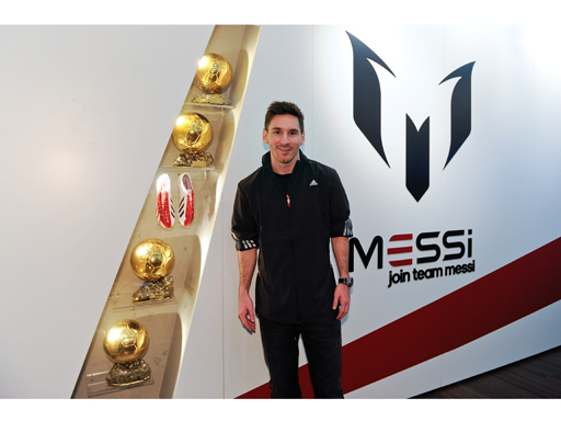 Image : adidas Launches Messi Gallery In Barcelona