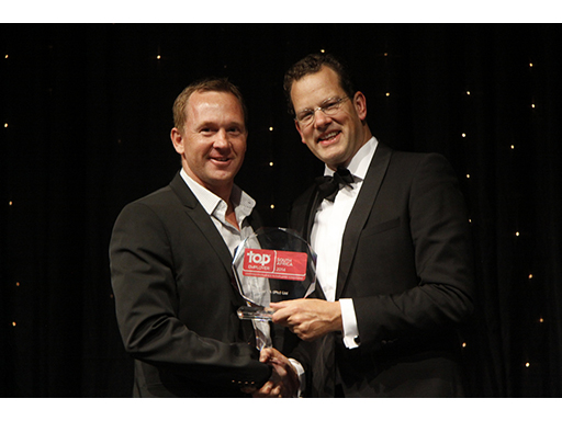 adidas_Top Employer 2014 Awards_Managing Director Roddy van Breda