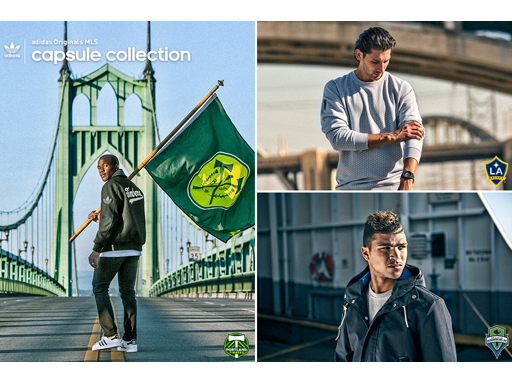 adidas Originals MLS Capsule Collection Lookbook 1