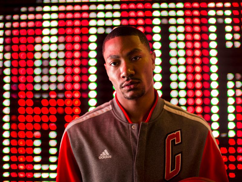 NBA Derrick Rose 1