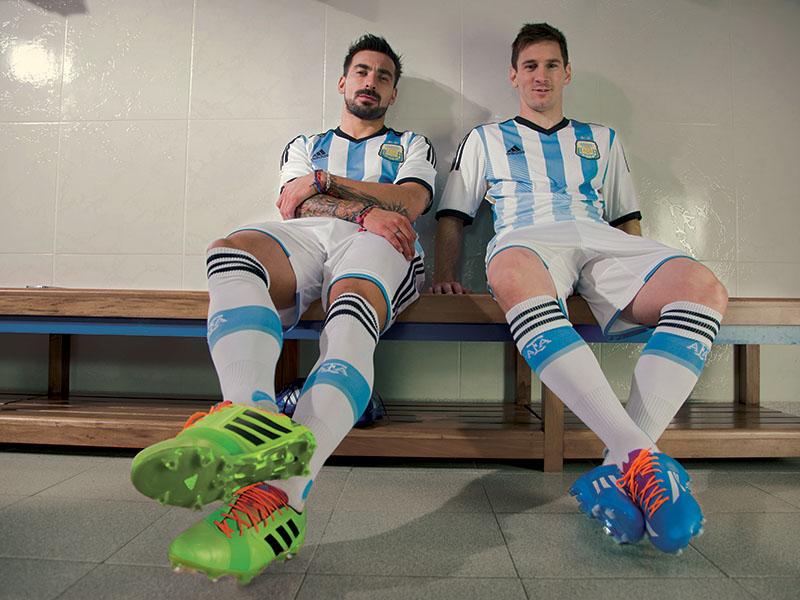 Messi y Lavezzi