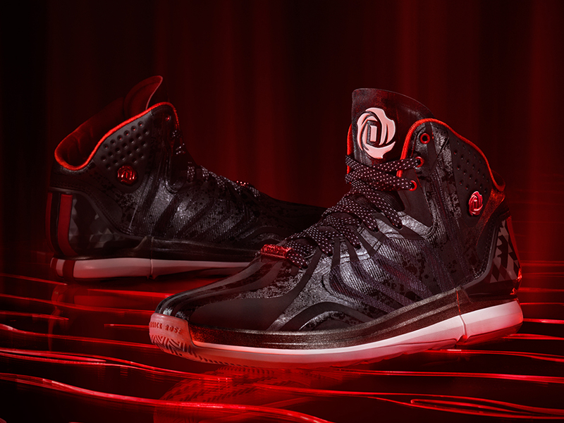 D Rose 4.5 Black, Hero 1