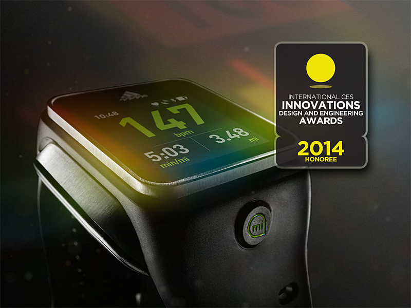 adidas miCoach receives honors at International CES