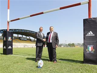 adidas nuovo sponsor tecnico della federazione Italiana Rugby
