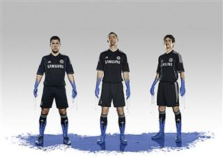 Chelsea FC 3rd kit 2013/14 season