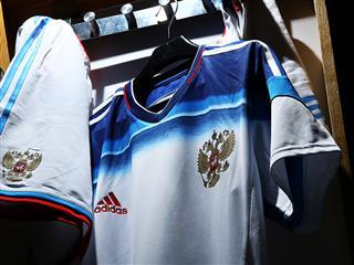 adidas представляет новую гостевую форму сборной России по футболу