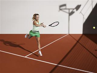 A return in style - adidas by Stella McCartney barricade at the French Open