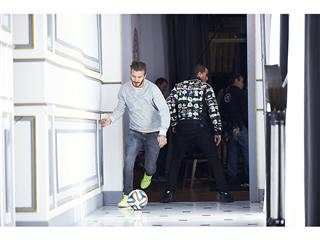 Zidane, Beckham, Bale y Lucas Moura viven su pasión por el Mundial de un modo diferente