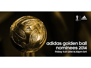 @brazuca to reveal adidas Golden Ball award nominees
