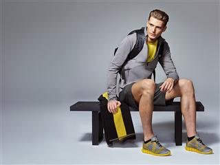 A luxury look for high-performance workouts