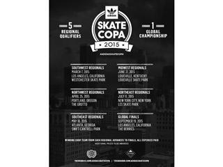 adidas® skateboarding Announces Skate Copa 2015