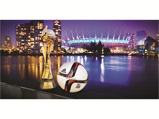 adidas Reveals The Conext15 Final Vancouver: The Official Match Ball For The Final Of The Fifa Women's World Cup Canada 2015™
