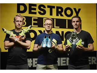 adidas showcases the all new X, Ace and Messi 15 at The Base Berlin